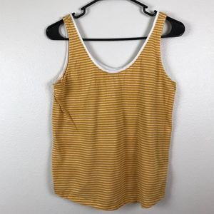 3/$20 Old Navy Striped Scoop Neck Tank Top M